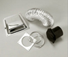 Splendide #VI-D401AC Deluxe Dryer Vent Kit for vented combo washer-dryers